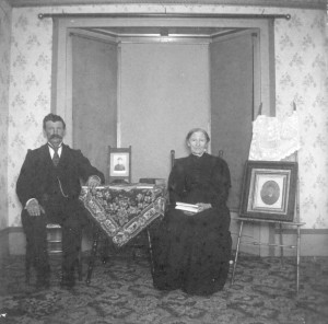 William McKay and his mother Elizabeth Campbell