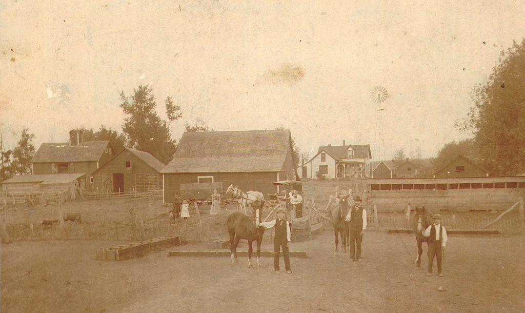 Pearson Farm, Chapman Precinct, about 1895