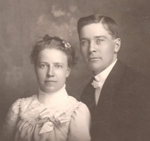 Peter William Pearson (b. 1877) and Clara Elizabeth Brodd (b. 1877)