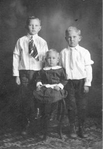 Ted, Albert and Clem Rademacher