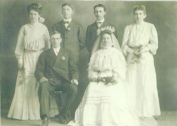 1906JoeAnnieWeddingParty