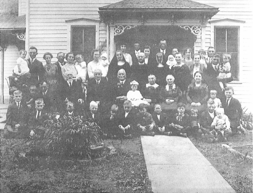 May 17, 1920 - Group photo of family of Joseph and Josepha Rademacher