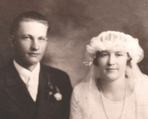 Ted and Elizabeth Rademacher, Sep. 14 1927