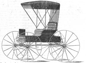 A turn-of-the-century Top Buggy