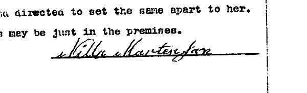 1901-12-23NillaMartinsonSignature