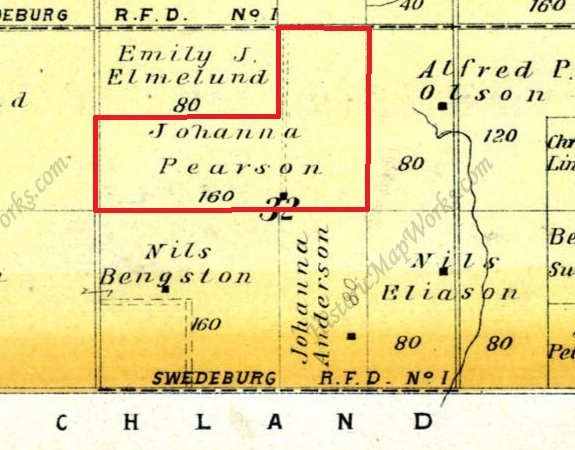 Stocking Farm ownership, 1907