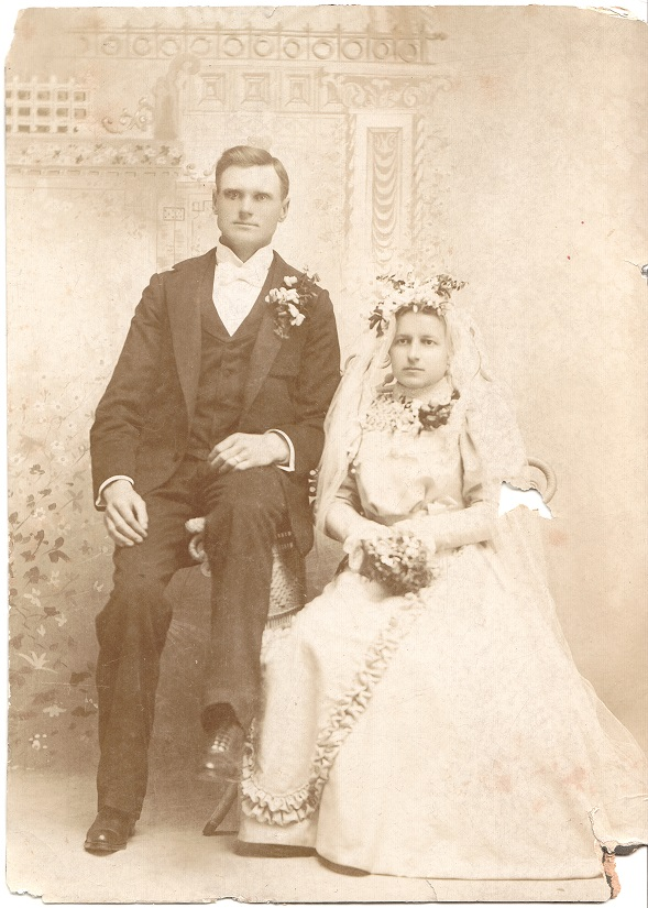 Edward Cornelius Hanson and Hulda Martinson