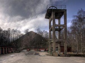 The C.J. Malmros mining shaft near Billesholm