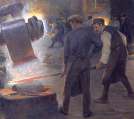 Swedish metal workers