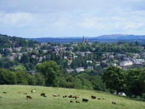 The village of Crieff