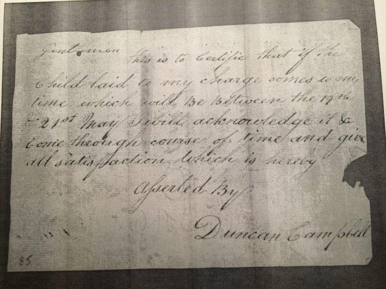 "Duncan Cambpell's ""affidavit"""