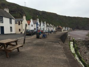 Pennan fishing village