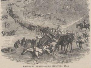 gold-rush-emigrant-train-1849-1